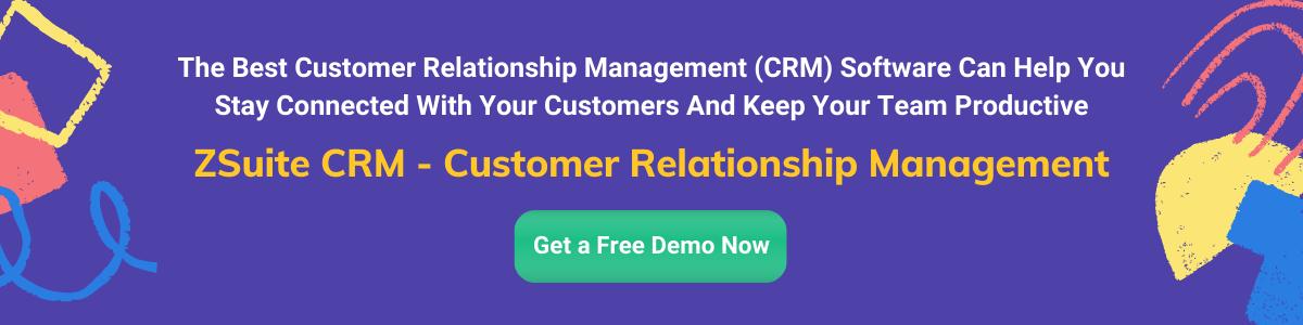 ZSuite CRM - Customer Relationship Management